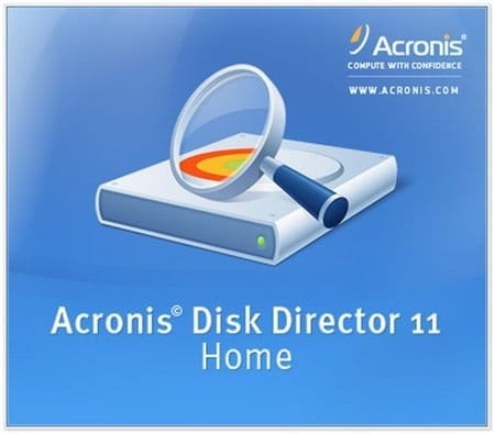 Acronis Disk Director Home 11 RUS