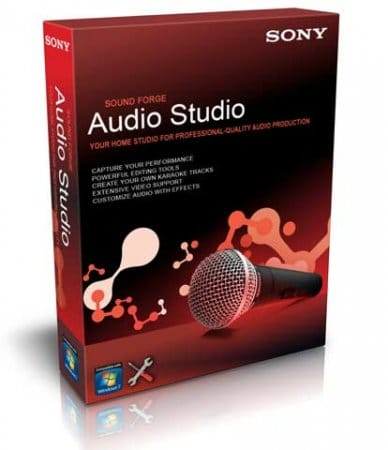 Sony Sound Forge Audio Studio 10.0