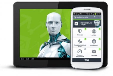 ESET NOD32 Mobile для Android + ключи