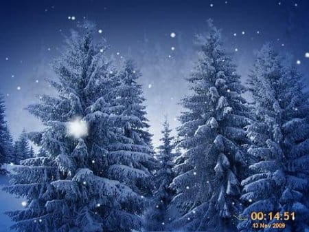 SnowFlakes 3D Screensaver